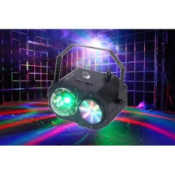 LC Group MINI PARTY MIX LED effect Light with Moon Flower, Color Wash and Laser