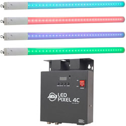American DJ LED-PIXEL-TUBE-SYS-4 Channel controller and LED-PIXEL-TUBE-360