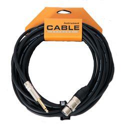 Leem BMH25 XLR Female to 1/4 Mono Microphone Cable