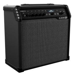 "Line 6 SPIDER5-60 60-watt 1 x 10"" Modeling Electric/Acoustic Guitar Amplifier Combo"