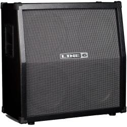 "Line 6 SPIDER5-412CAB 320-watt 4 x 12"" Slant Extension Guitar Cabinet"