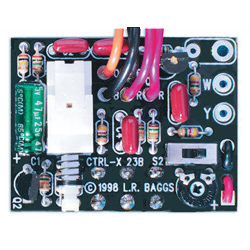 L. R. Baggs LR-CTRLX Control-X for X-Bridge Preamp with 3-way Switch, Stereo Jack, Mounting Hardware