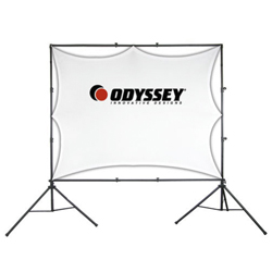 Odyssey LTMVSS1014L Mobile VSS-L Video Projection Screen System with Lower Bar Accessory