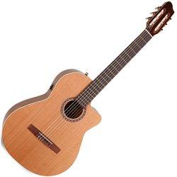 La Patrie 045488 Concert CW QI Cedar & Mahogany Acoustic-Electric Classical Guitar