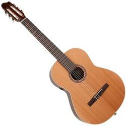 La Patrie 046553 Concert QI Left-Handed Acoustic-Electric Classical Guitar