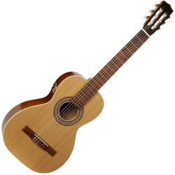 La Patrie 046539 Motif Classical Acoustic-Electric Guitar Natural