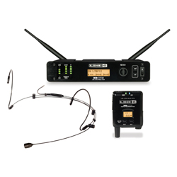 Line 6 L6XDV75HSB Headset in Black 14 Channel 300 Foot Digital Wireless Mic System