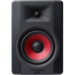 """M-Audio BX5 D3 Crimson 5"""" 2-Way Reference Monitor"""