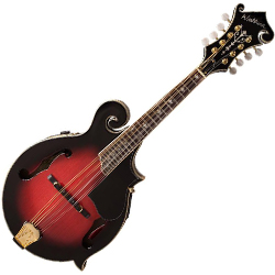 Washburn M3SWETWRK Bluegrass Series Mandolin in Transparent Wine Red (discontinued clearance)