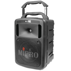MIPRO MA-708PAD Portable Wireless PA System with CD Player