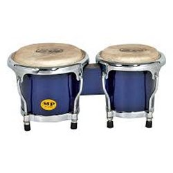 "Mano MP560-BL Mini Bongos 4"" & 5"" shells - Blue (discontinued clearance)"