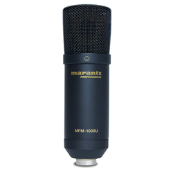 Marantz Pro MPM1000U USB Condenser Microphone for DAW Recording or Podcasting