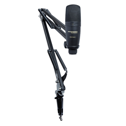 Marantz Pro PodPack1 USB Microphone with Broadcast Stand and Cable