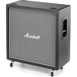 "Marshall 1960BX 100-watt 4x12"" Straight Extension Guitar Amplifier Cabinet with Greenbacks"