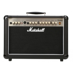 Marshall AS50DBK 50 Watt Acoustic Guitar Combo Amplifier with Digital Effects in Black