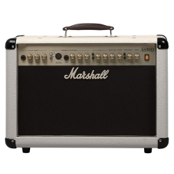 Marshall AS50DC 50 Watt Acoustic Guitar Combo Amplifier with Digital Effects in Cream