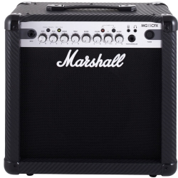 Marshall MG15CFX 15 Watt 4-Channel Guitar Amplifier Combo with Effects (discontinued clearance)