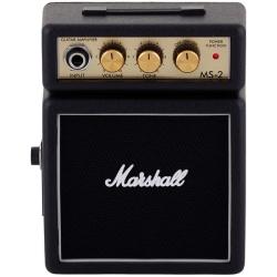 Marshall MS2 1 Watt Battery-Powered Micro Amplifier in Black