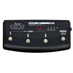 Marshall PEDL91009 Code Series 4-way Footswitch for Code Amplifiers