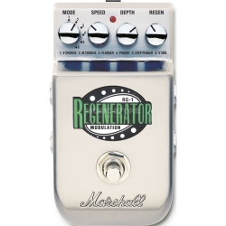 Marshall RG-1 Regenerator Stereo Modulation Guitar Effects Pedal