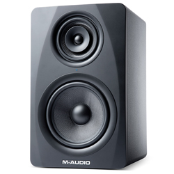 M-Audio M3-8 Black State-of-the-art Three Way Active Studio Monitor with 8 Inch Kevlar Low Frequency Driver