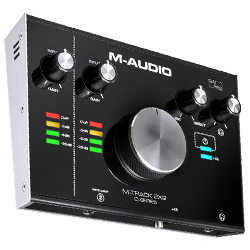 M-Audio MTRACK2X2 24 bit 192 kHz 2 In 2 Out USB Audio Interface