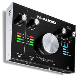 M-Audio MTRACK2X2M 24 bit 192 kHz 2 In 2 Out USB Audio/MIDI Interface