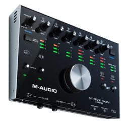 M-Audio MTRACK8X4M USB Audio Interface with 8 Inputs and 4 Outputs