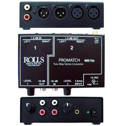 Rolls MB15B Promatch RCA to XLR Converter
