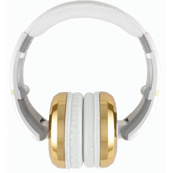 CAD Audio MH510GD The Sessions Professional Closed-Back Studio Headphones in Gold and White