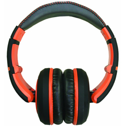CAD Audio MH510OR The Sessions Professional Closed-Back Studio Headphones in Black and Orange