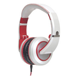 CAD Audio MH510W The Sessions Professional Closed-Back Studio Headphones in White with Red