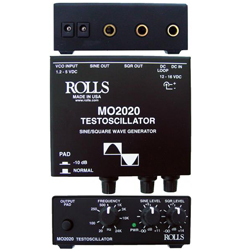 Rolls MO2020 Testoscillator Sine and Square Waves Generator