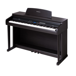 Kurzweil MP15 SR 88 Note Portable Fully Weighted Digital Piano in Rosewood with Adjustable Keys