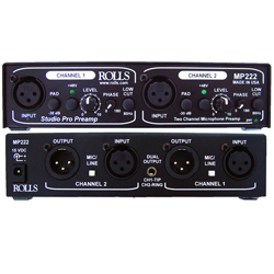 Rolls MP222 Studio Pro Mic Preamp