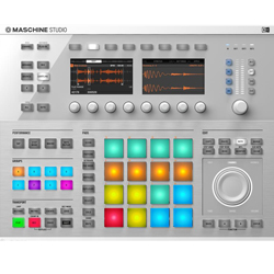 Native Instruments Maschine Studio WHT DJ Controller in White