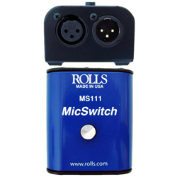 Rolls MS111 Muting Switch for Microphones