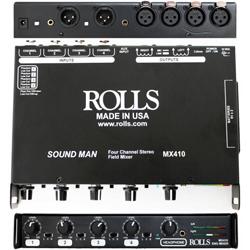 Rolls MX410 4 Channel Field Microphone Mixer