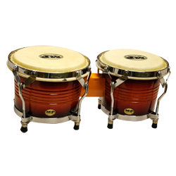 Mano MP1778-SB 7 and 8 inch Bongo Set in Sunburst with Traditional Rims