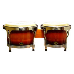 Mano MP1789NS-1SB 8 and 9 Inch Bongo Set in Sunburst with Traditional Rims