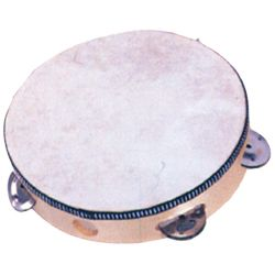 "Mano MP-T68H Tambourine 8"" with Calfskin Head"