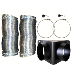 Martin JEM GLACIATOR X-STREAM TWIN DUCTING SYSTEM Ducting Kit with Twin Adapter
