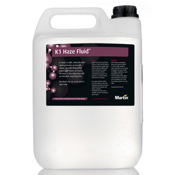 Martin JEM K1 Haze Fluid 2.5L Uniform Haze Fluid for K1 Haze Machine 2.5 Litre