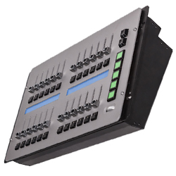 Martin Lighting M-Series Submaster Module  Lighting Console with 24 playback faders with single-function button