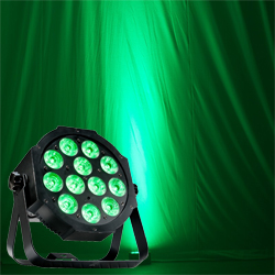 American DJ MEGA-64-PROFILE-PLUS Low Profile LED Par with 12 x 4W Quad LED RGB+UV