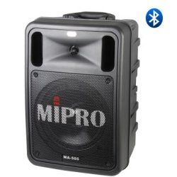 Mipro MA-505DPM3 Bluetooth Rechargeable Battery Operated Portable Wireless PA System w/ SD & USB Player