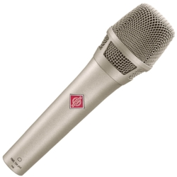 Neumann KMS 104 PLUS Handheld Condenser Microphone with Extended Bass Response-Nickel