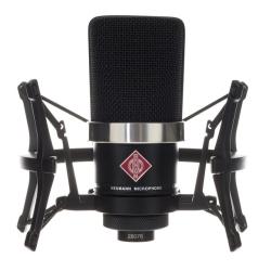 Neumann TLM 102 BK STUDIOSET Large-Diaphragm Condenser Microphone in Black-Studio Set