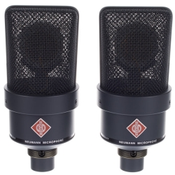 Neumann TLM 103-MT STEREO Large-Diaphragm Condenser Microphones in Black-Stereo Pair