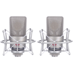 Neumann TLM 103-STEREO Large-Diaphragm Condenser Microphones in Nickel-Stereo Pair